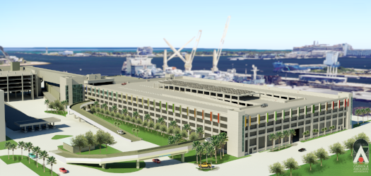 Terminal 2 & 4 Port Everglades Parking Garage